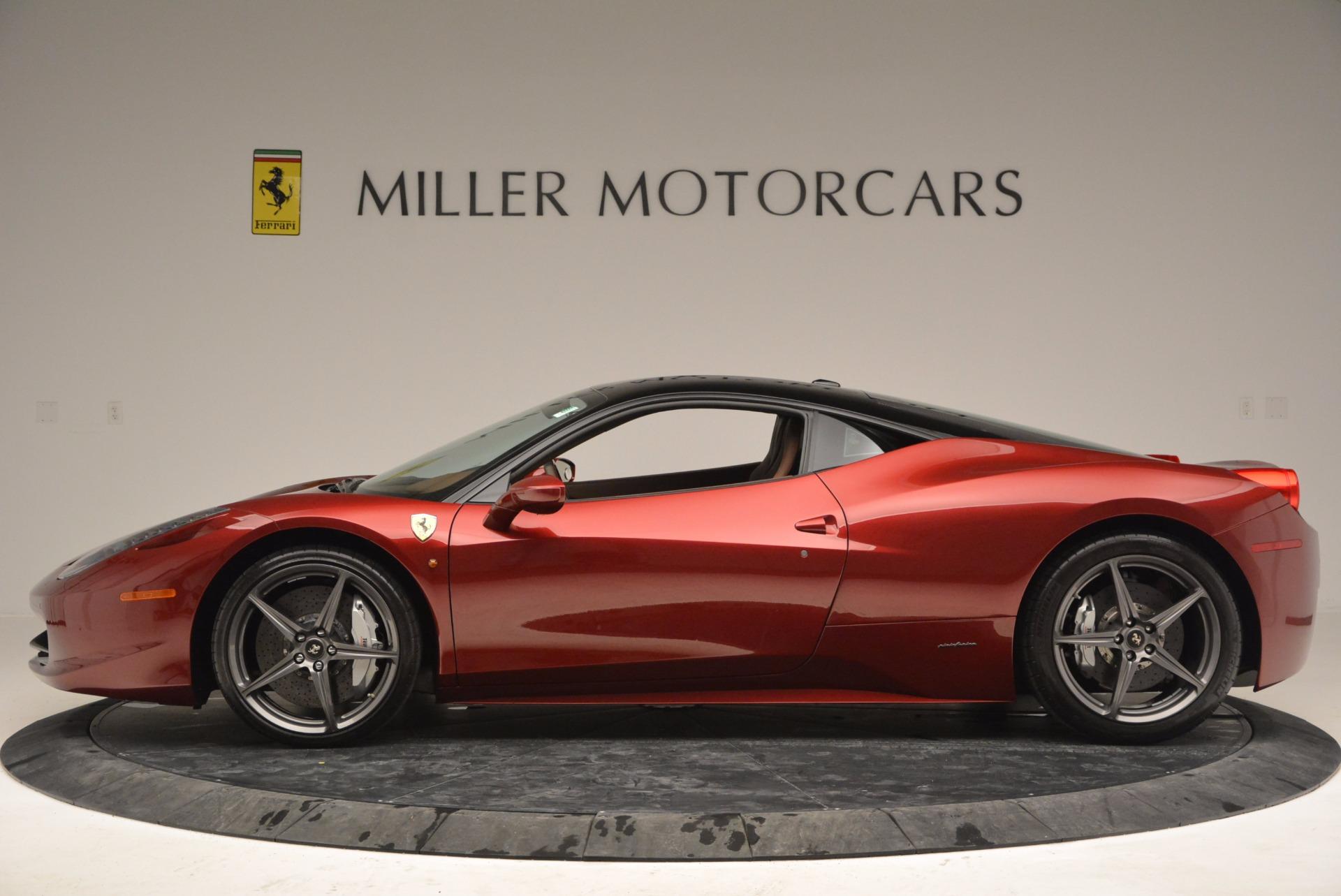 Used 2011 Ferrari 458 Italia  For Sale In Greenwich, CT. Alfa Romeo of Greenwich, 4374 899_p3