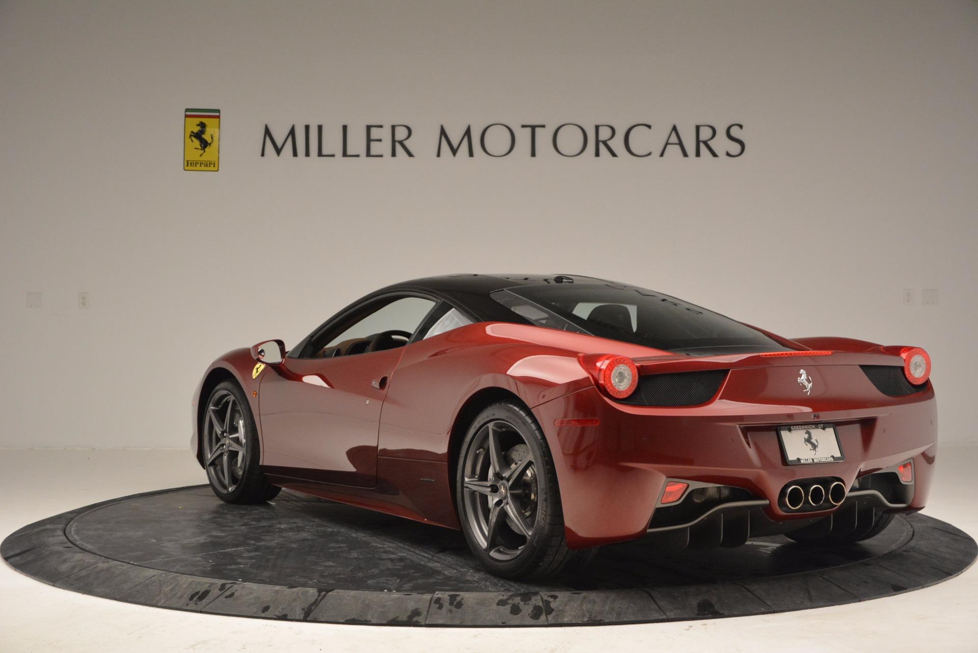 Used 2011 Ferrari 458 Italia  For Sale In Greenwich, CT. Alfa Romeo of Greenwich, 4374 899_p5