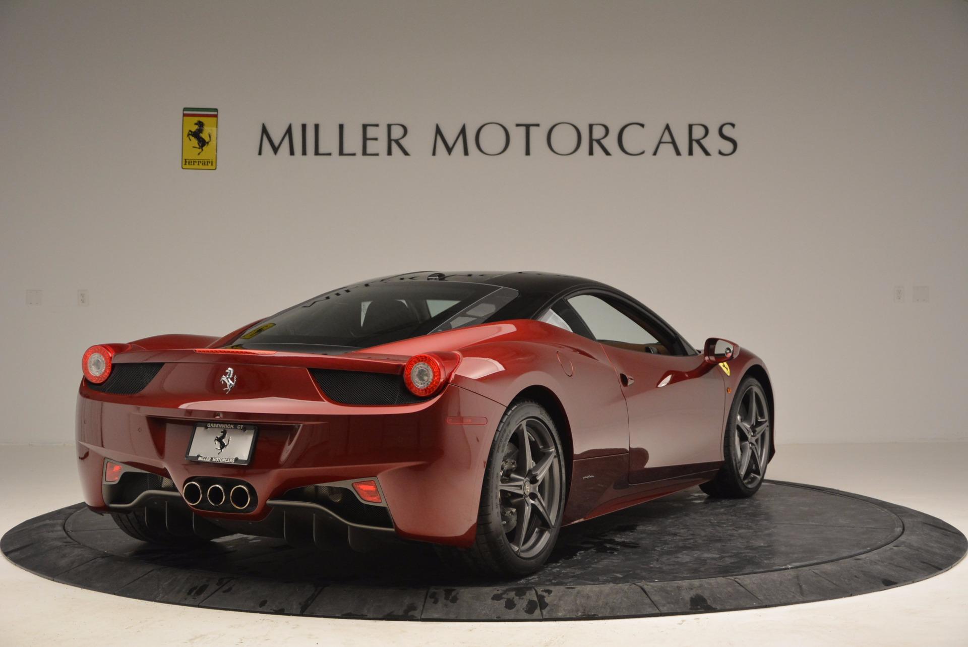 Used 2011 Ferrari 458 Italia  For Sale In Greenwich, CT. Alfa Romeo of Greenwich, 4374 899_p7