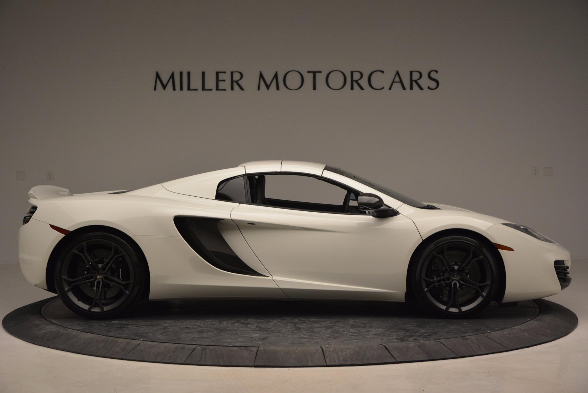 Used 2014 McLaren MP4-12C Spider For Sale In Greenwich, CT. Alfa Romeo of Greenwich, 3136 908_p19