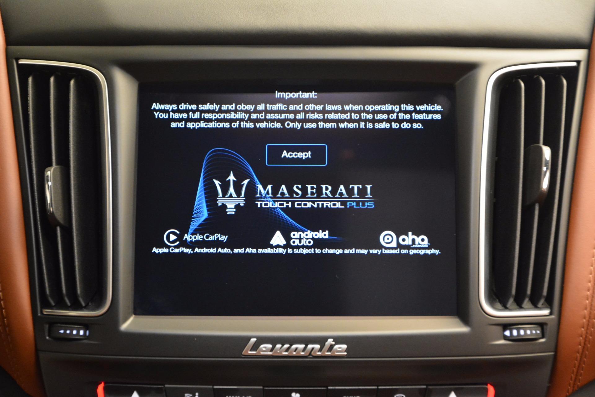 New 2017 Maserati Levante  For Sale In Greenwich, CT. Alfa Romeo of Greenwich, M1779 915_p26