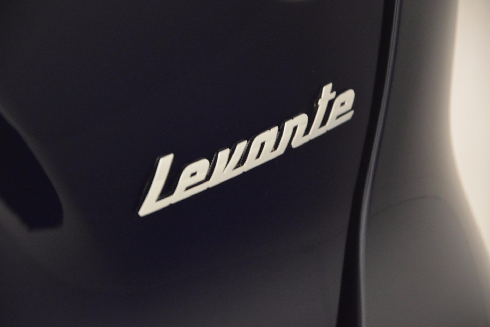 New 2017 Maserati Levante  For Sale In Greenwich, CT. Alfa Romeo of Greenwich, M1779 915_p37