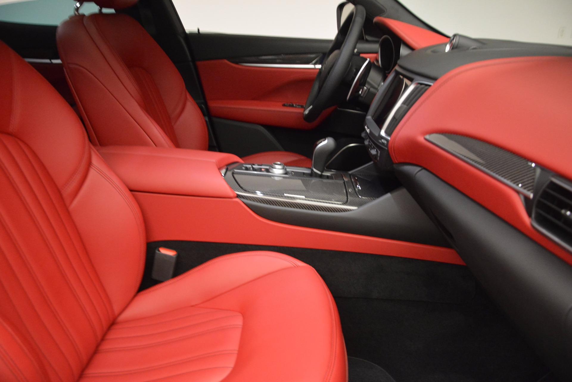 New 2017 Maserati Levante S For Sale In Greenwich, CT. Alfa Romeo of Greenwich, M1782 918_p17