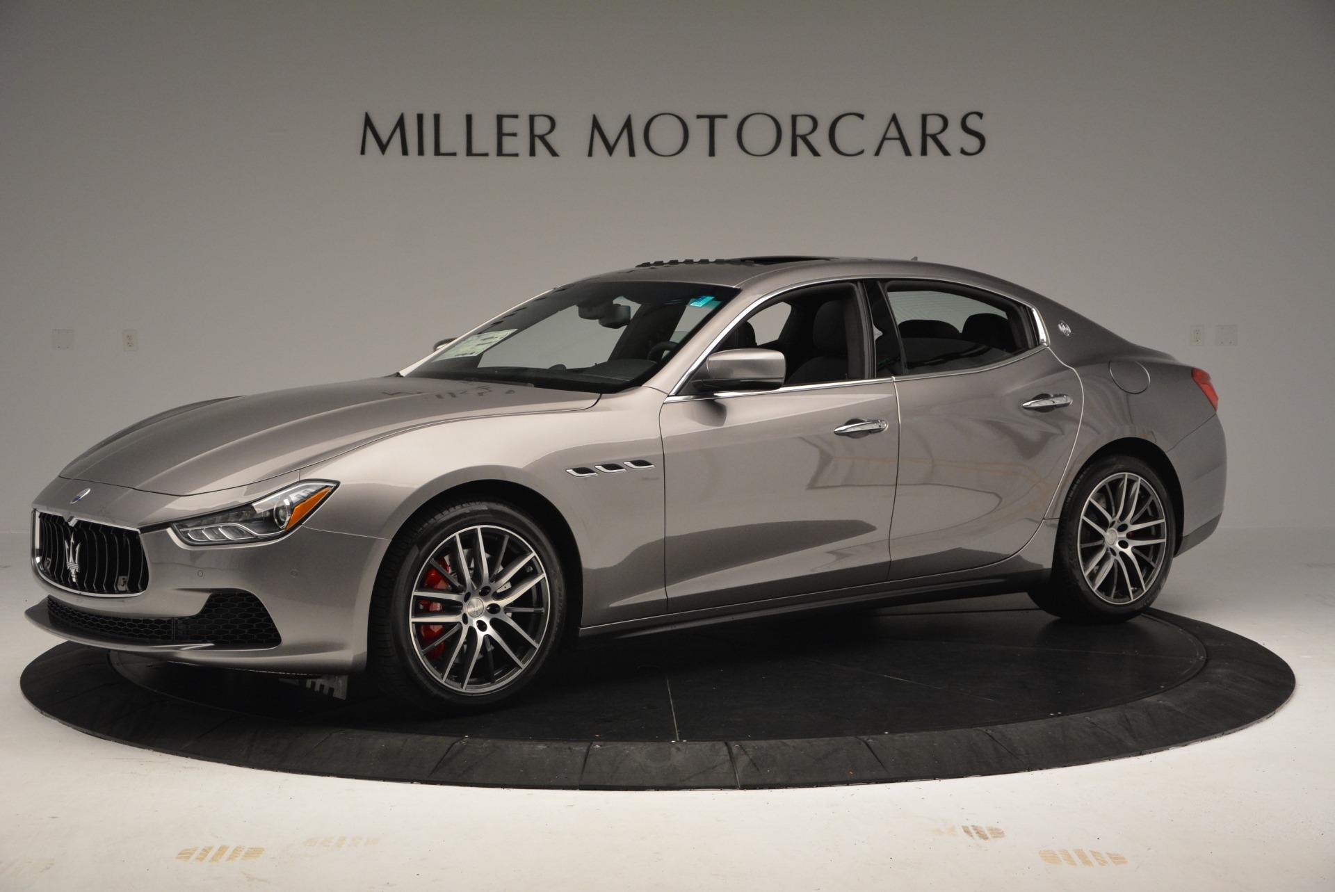 New 2017 Maserati Ghibli S Q4 For Sale In Greenwich, CT. Alfa Romeo of Greenwich, M1784 920_p2