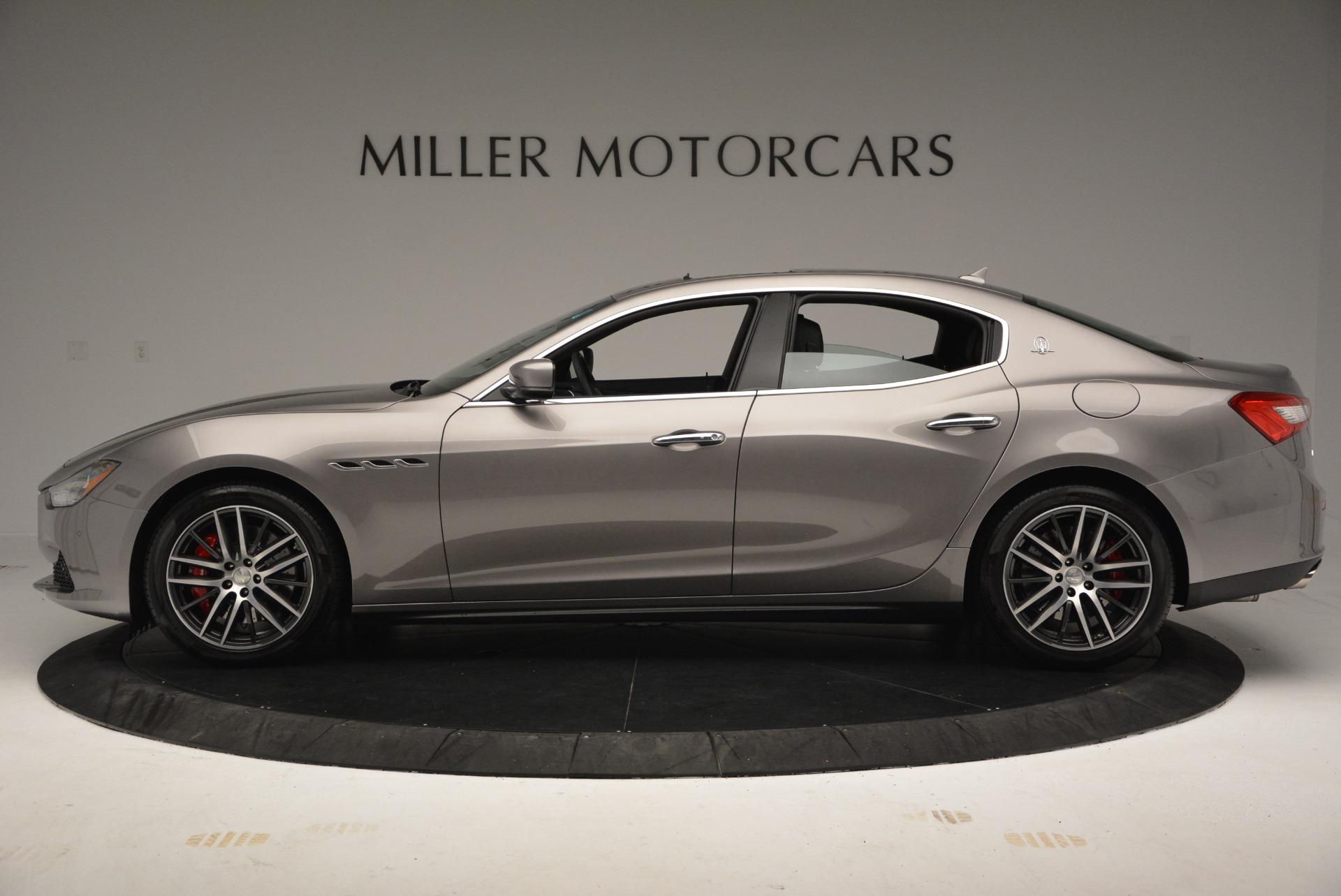 New 2017 Maserati Ghibli S Q4 For Sale In Greenwich, CT. Alfa Romeo of Greenwich, M1784 920_p3