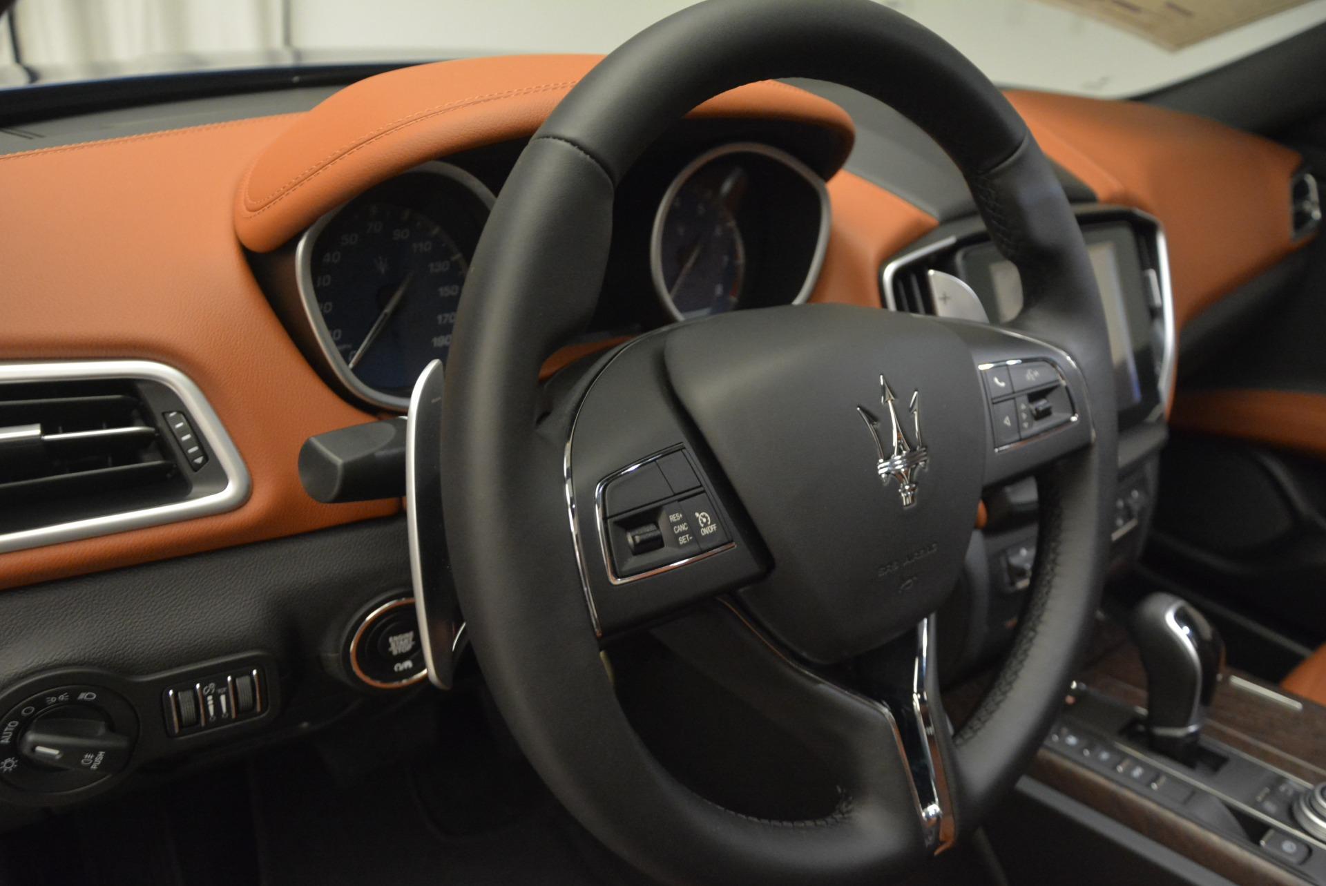 New 2017 Maserati Ghibli S Q4 For Sale In Greenwich, CT. Alfa Romeo of Greenwich, W407 923_p18