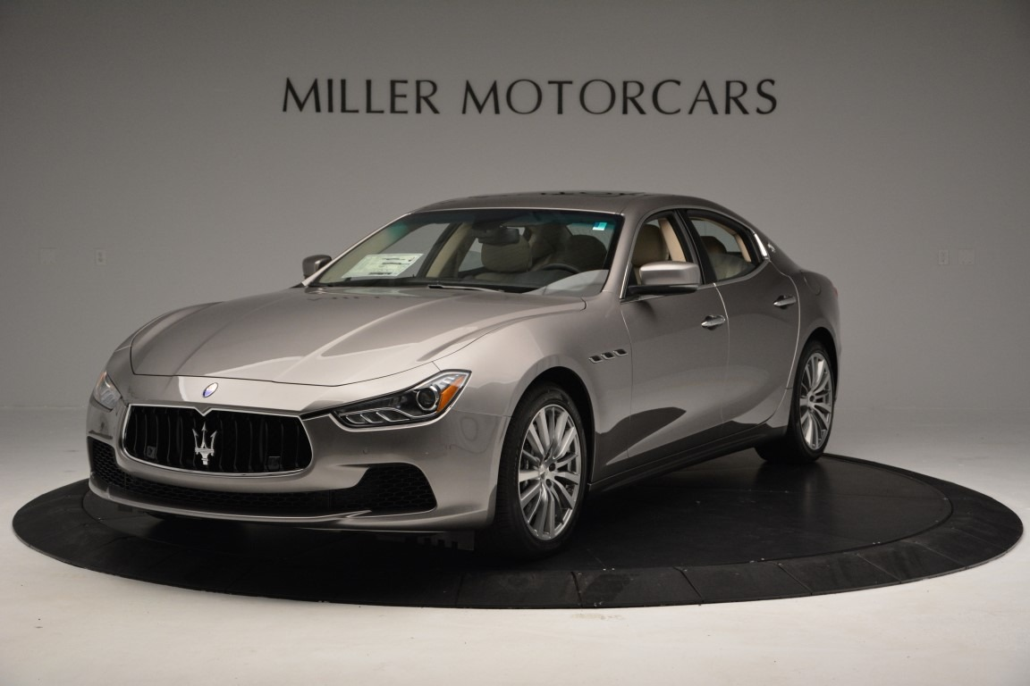 New 2017 Maserati Ghibli S Q4 For Sale In Greenwich, CT. Alfa Romeo of Greenwich, M1789