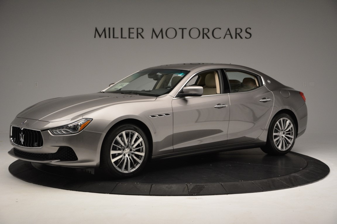 New 2017 Maserati Ghibli S Q4 For Sale In Greenwich, CT. Alfa Romeo of Greenwich, M1792 933_p2