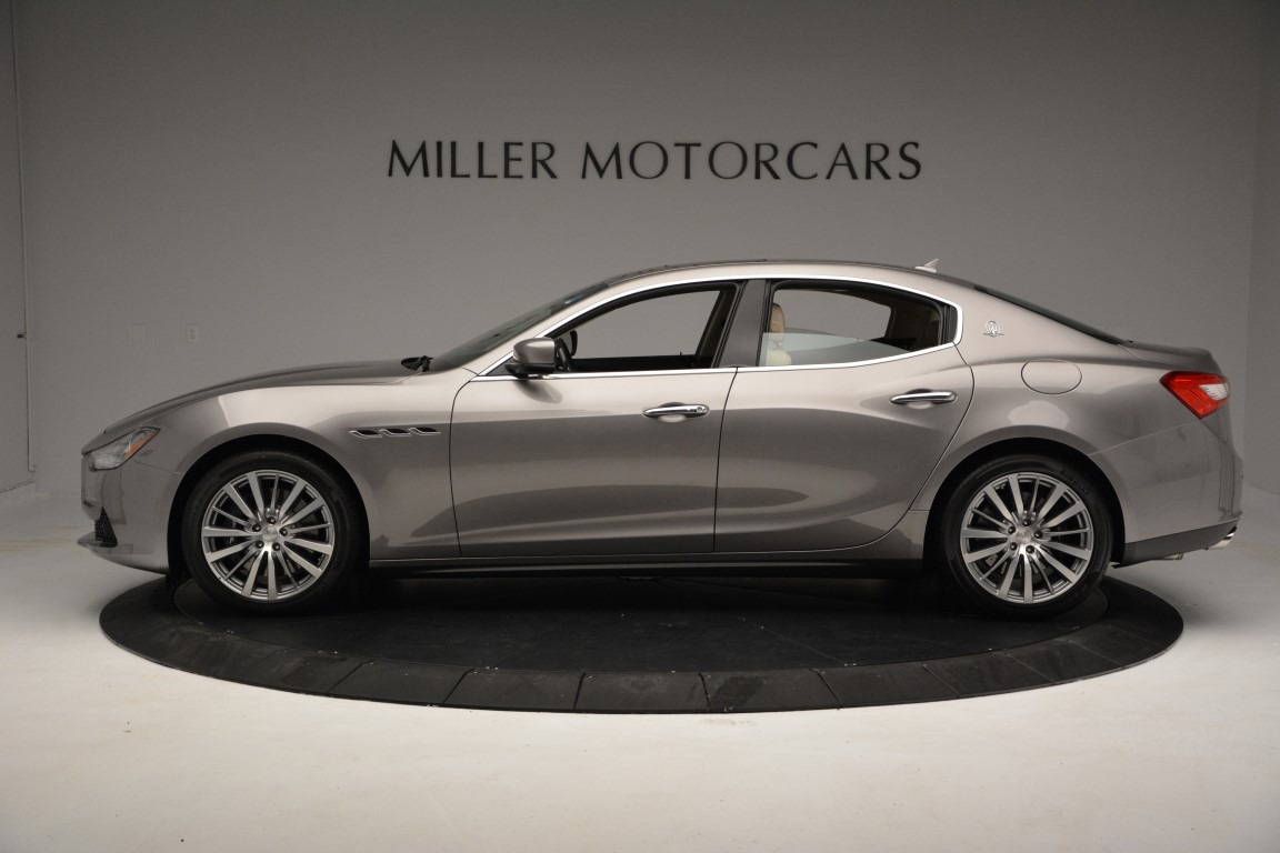 New 2017 Maserati Ghibli S Q4 For Sale In Greenwich, CT. Alfa Romeo of Greenwich, M1792 933_p3