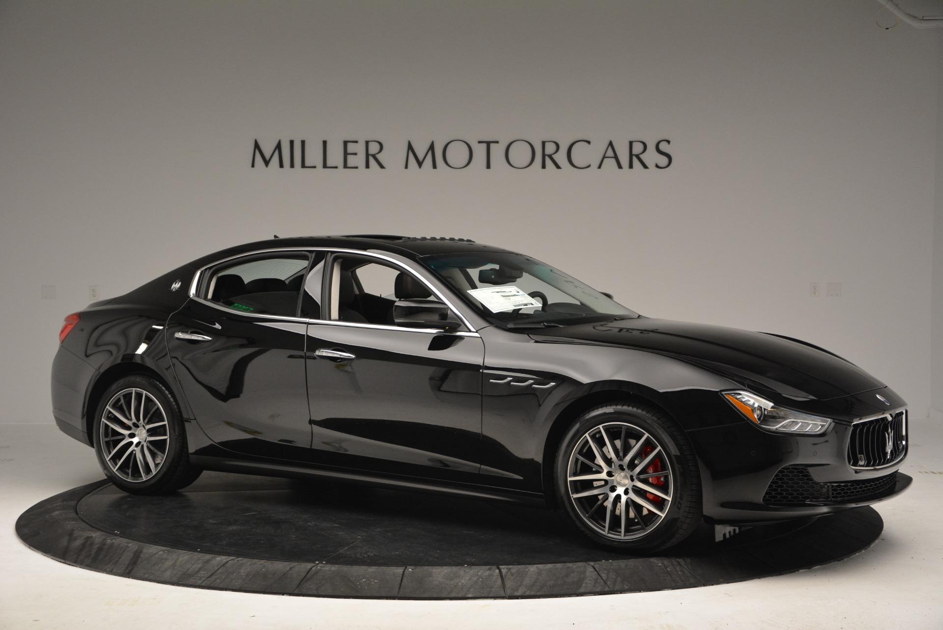 New 2017 Maserati Ghibli S Q4 For Sale In Greenwich, CT. Alfa Romeo of Greenwich, W409 934_p10