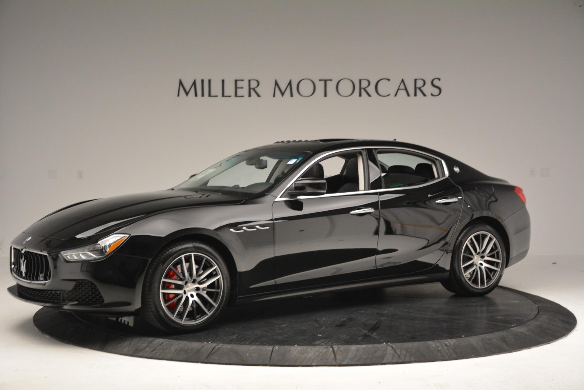 New 2017 Maserati Ghibli S Q4 For Sale In Greenwich, CT. Alfa Romeo of Greenwich, W409 934_p2