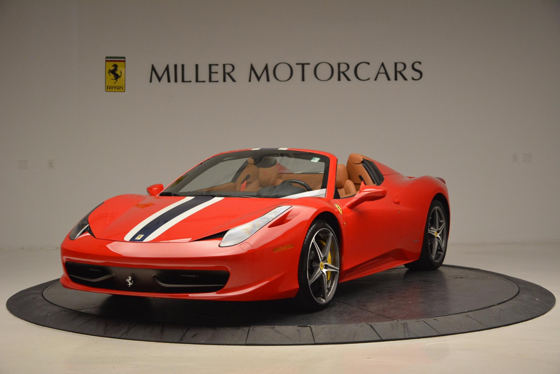 Used 2014 Ferrari 458 Spider  For Sale In Greenwich, CT. Alfa Romeo of Greenwich, F1773A 952_main