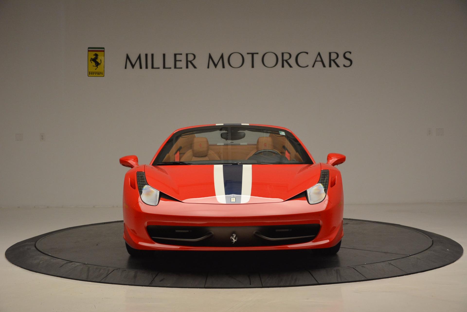 Used 2014 Ferrari 458 Spider  For Sale In Greenwich, CT. Alfa Romeo of Greenwich, F1773A 952_p12