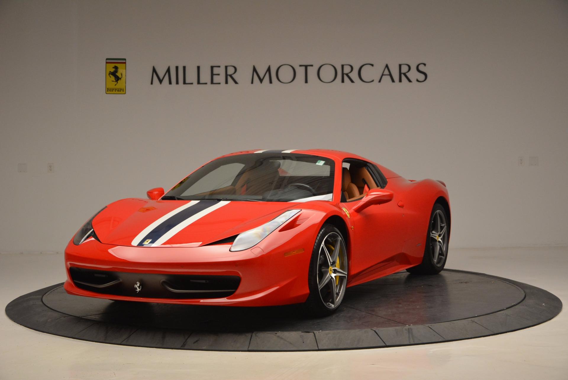 Used 2014 Ferrari 458 Spider  For Sale In Greenwich, CT. Alfa Romeo of Greenwich, F1773A 952_p13