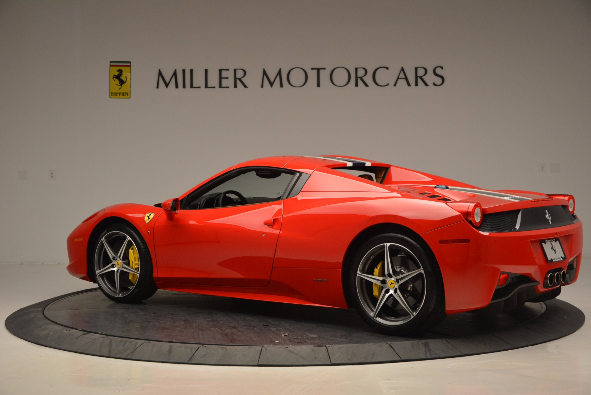 Used 2014 Ferrari 458 Spider  For Sale In Greenwich, CT. Alfa Romeo of Greenwich, F1773A 952_p16