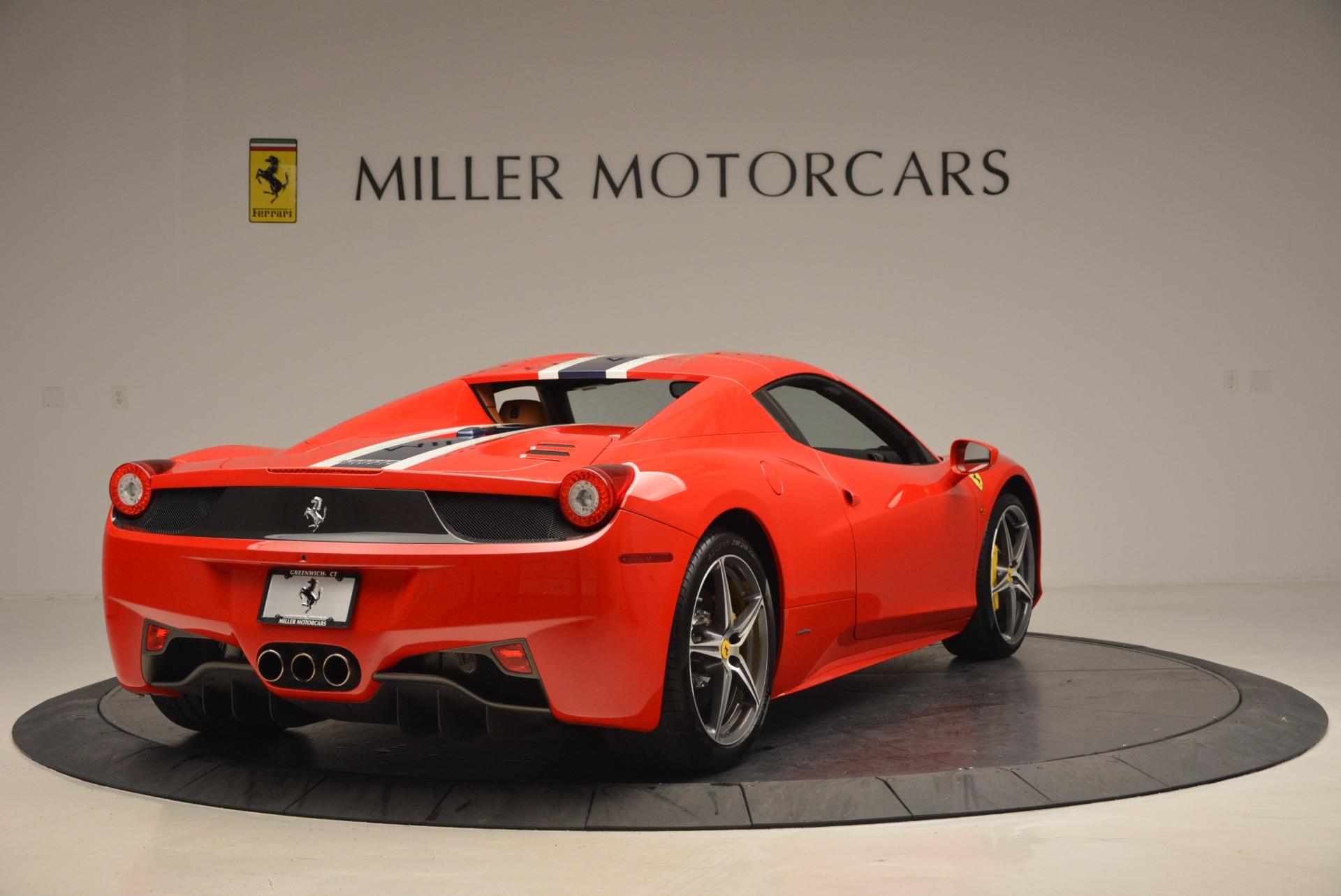 Used 2014 Ferrari 458 Spider  For Sale In Greenwich, CT. Alfa Romeo of Greenwich, F1773A 952_p19
