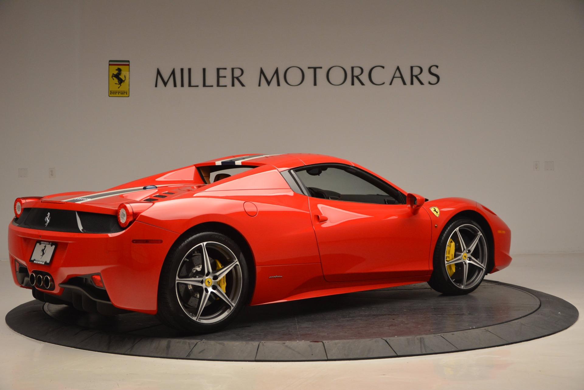 Used 2014 Ferrari 458 Spider  For Sale In Greenwich, CT. Alfa Romeo of Greenwich, F1773A 952_p20