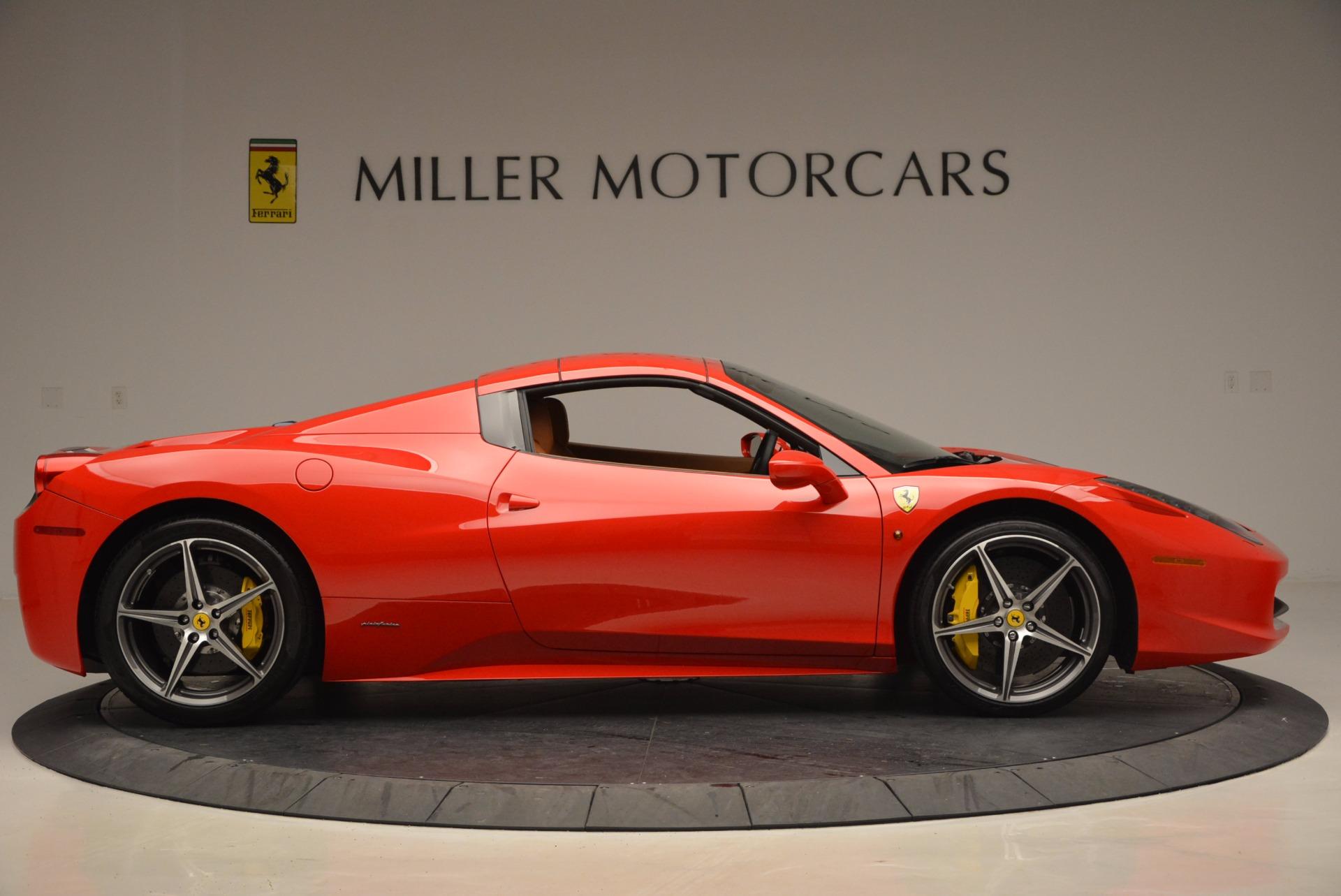 Used 2014 Ferrari 458 Spider  For Sale In Greenwich, CT. Alfa Romeo of Greenwich, F1773A 952_p21