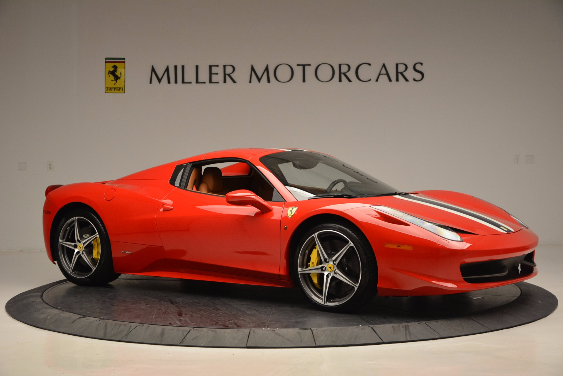 Used 2014 Ferrari 458 Spider  For Sale In Greenwich, CT. Alfa Romeo of Greenwich, F1773A 952_p22
