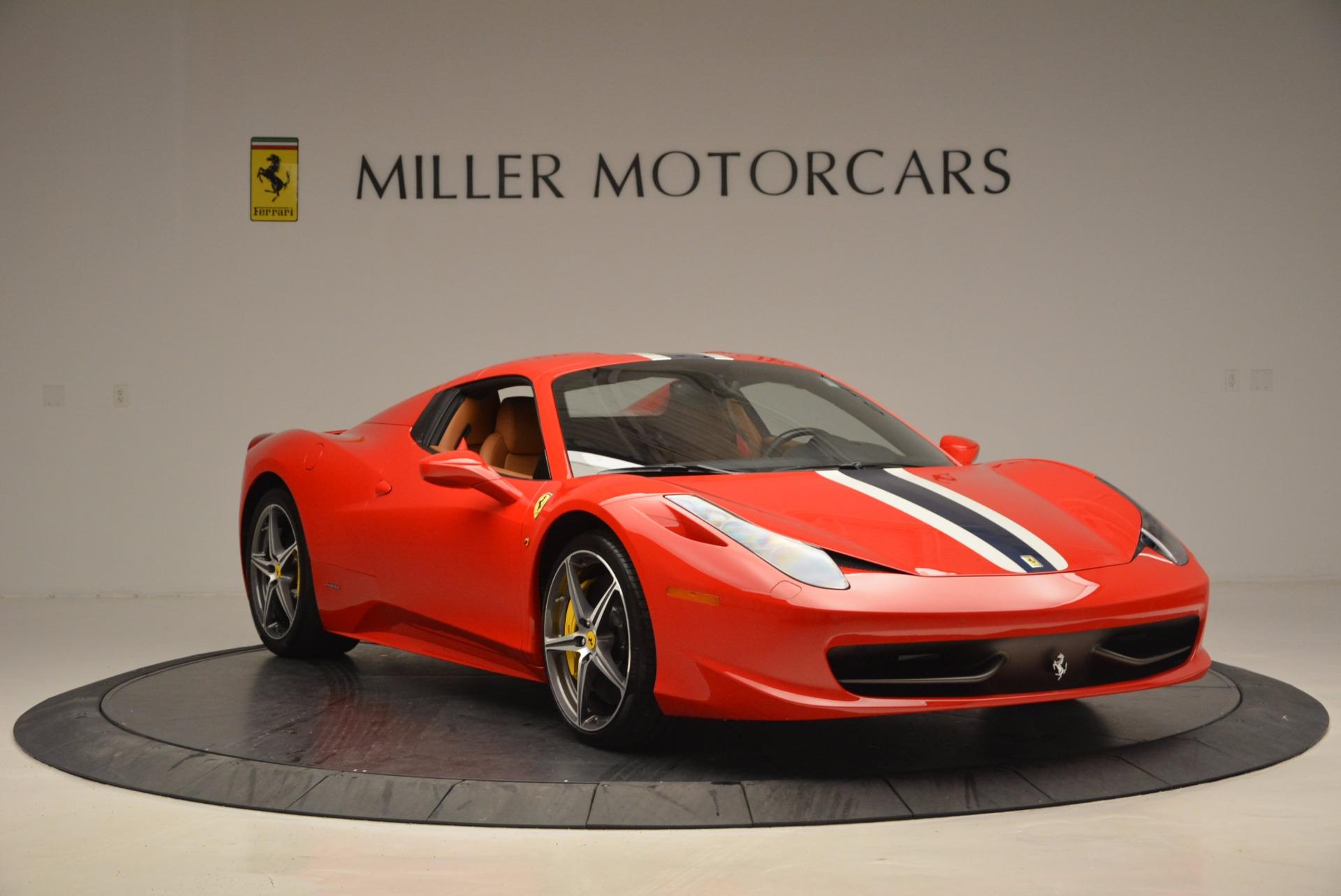 Used 2014 Ferrari 458 Spider  For Sale In Greenwich, CT. Alfa Romeo of Greenwich, F1773A 952_p23
