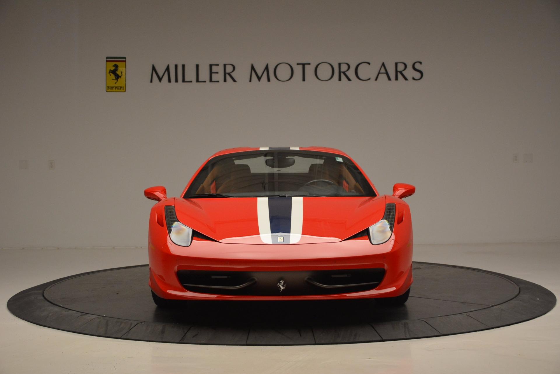 Used 2014 Ferrari 458 Spider  For Sale In Greenwich, CT. Alfa Romeo of Greenwich, F1773A 952_p24