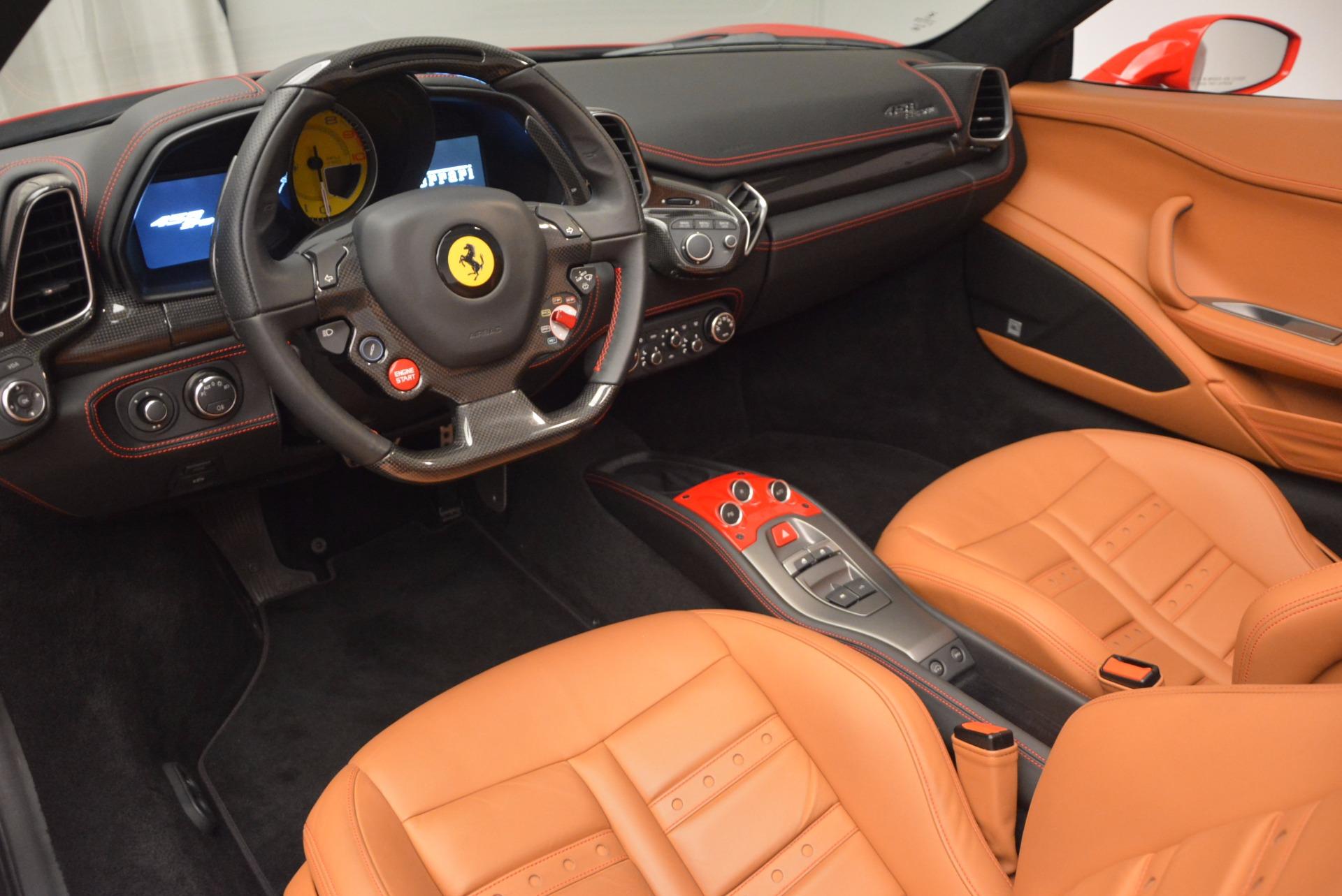 Used 2014 Ferrari 458 Spider  For Sale In Greenwich, CT. Alfa Romeo of Greenwich, F1773A 952_p25