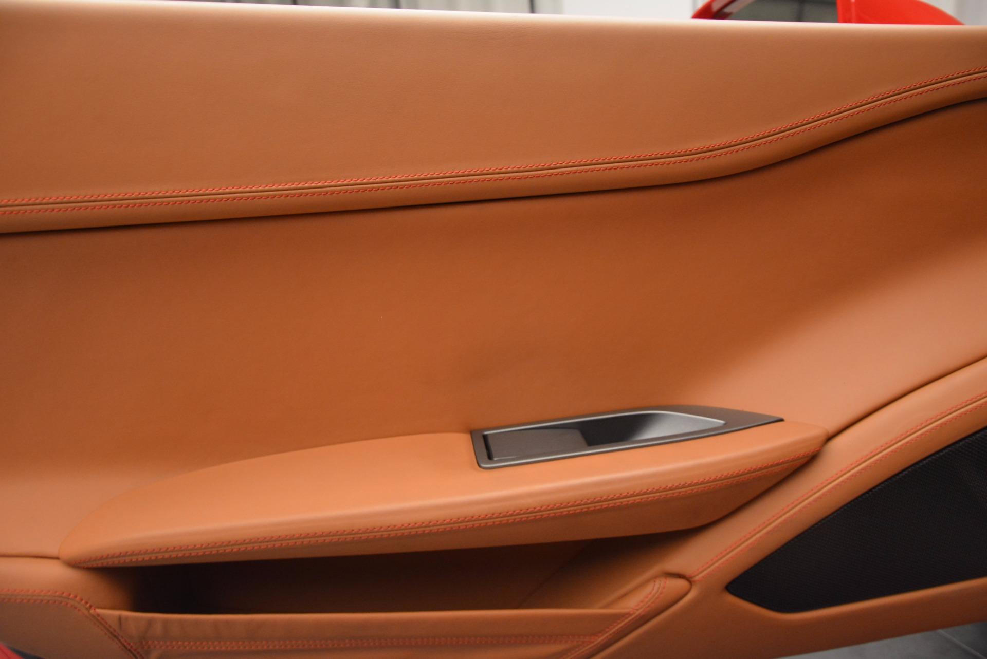 Used 2014 Ferrari 458 Spider  For Sale In Greenwich, CT. Alfa Romeo of Greenwich, F1773A 952_p28