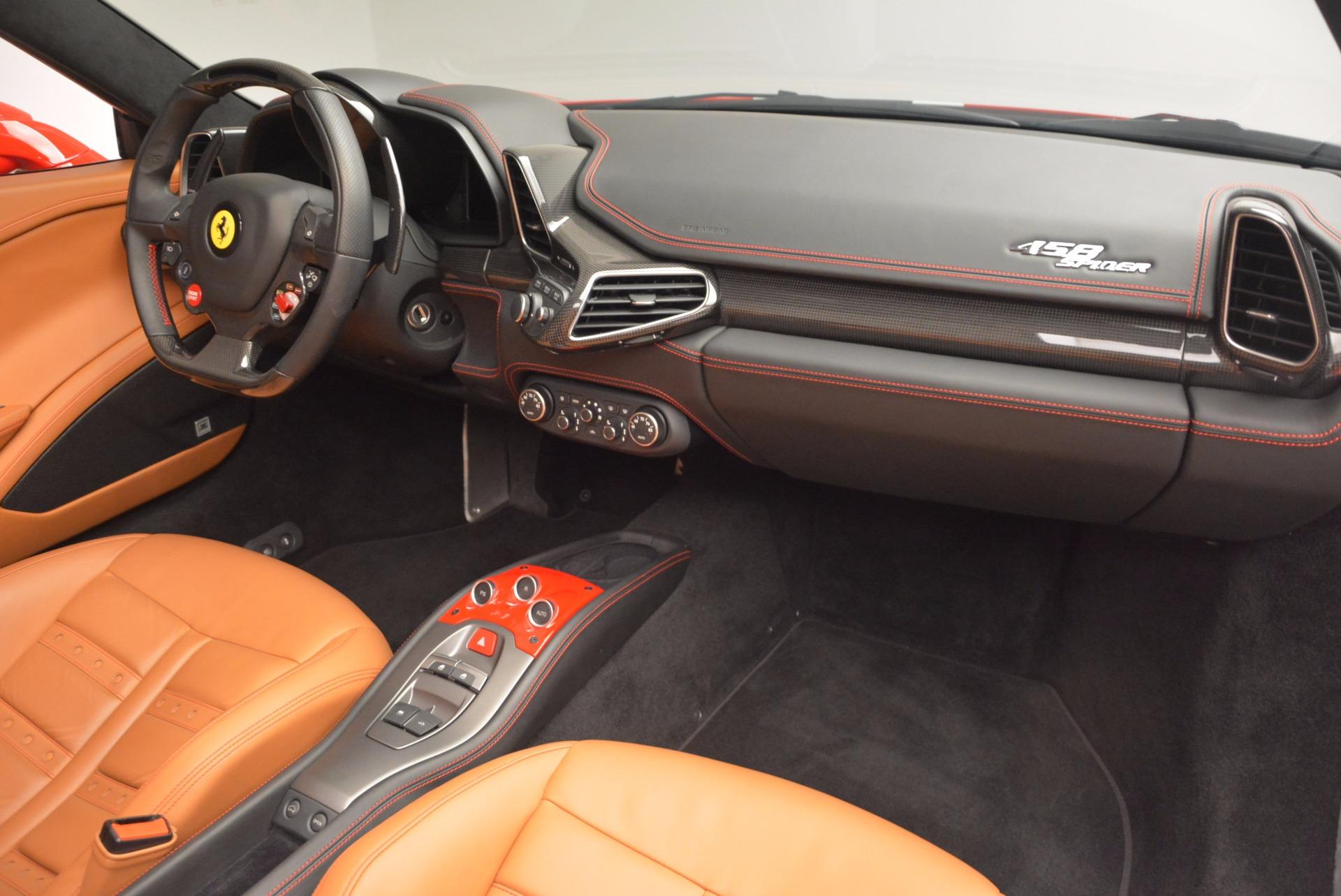 Used 2014 Ferrari 458 Spider  For Sale In Greenwich, CT. Alfa Romeo of Greenwich, F1773A 952_p29