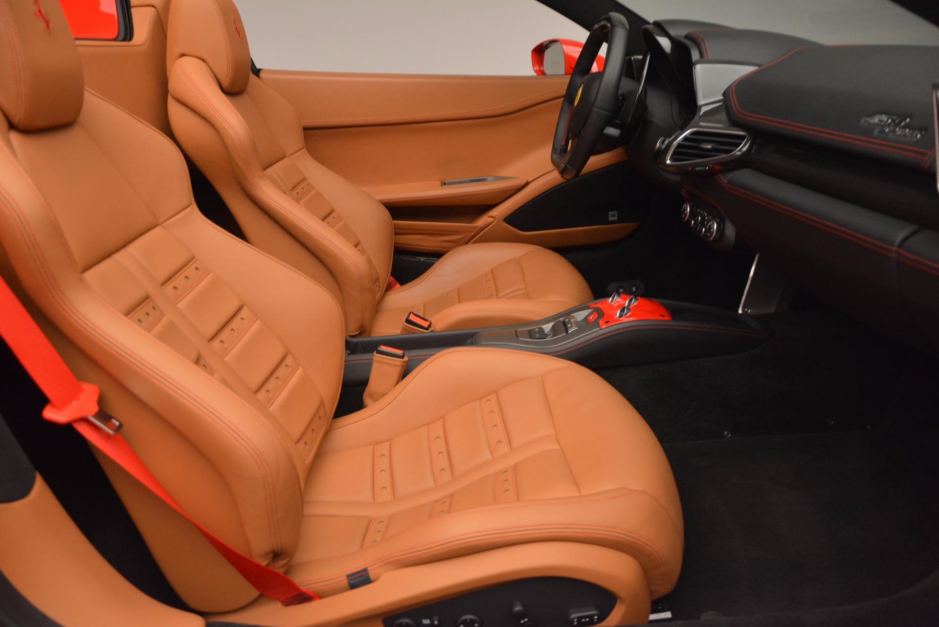 Used 2014 Ferrari 458 Spider  For Sale In Greenwich, CT. Alfa Romeo of Greenwich, F1773A 952_p30