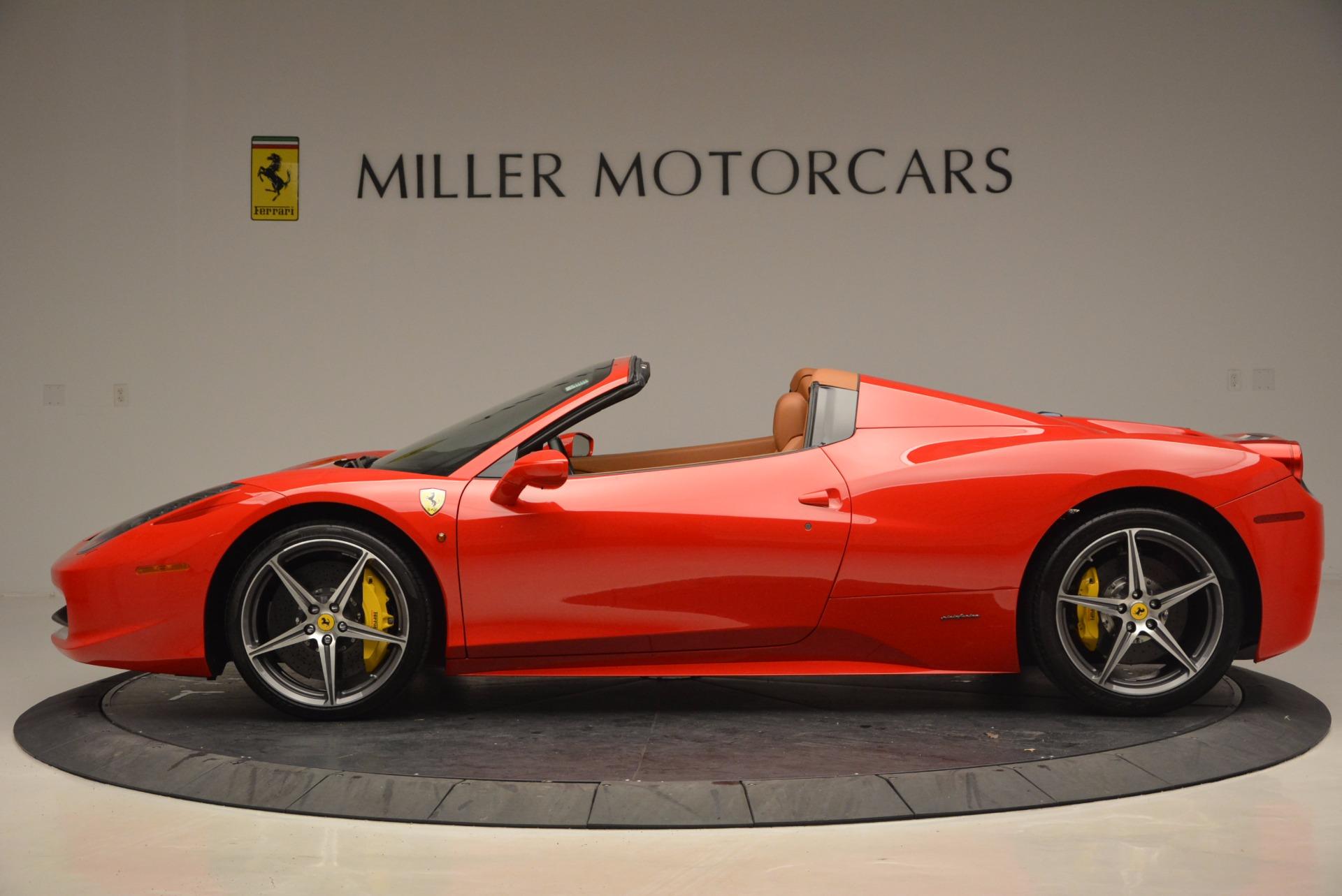 Used 2014 Ferrari 458 Spider  For Sale In Greenwich, CT. Alfa Romeo of Greenwich, F1773A 952_p3