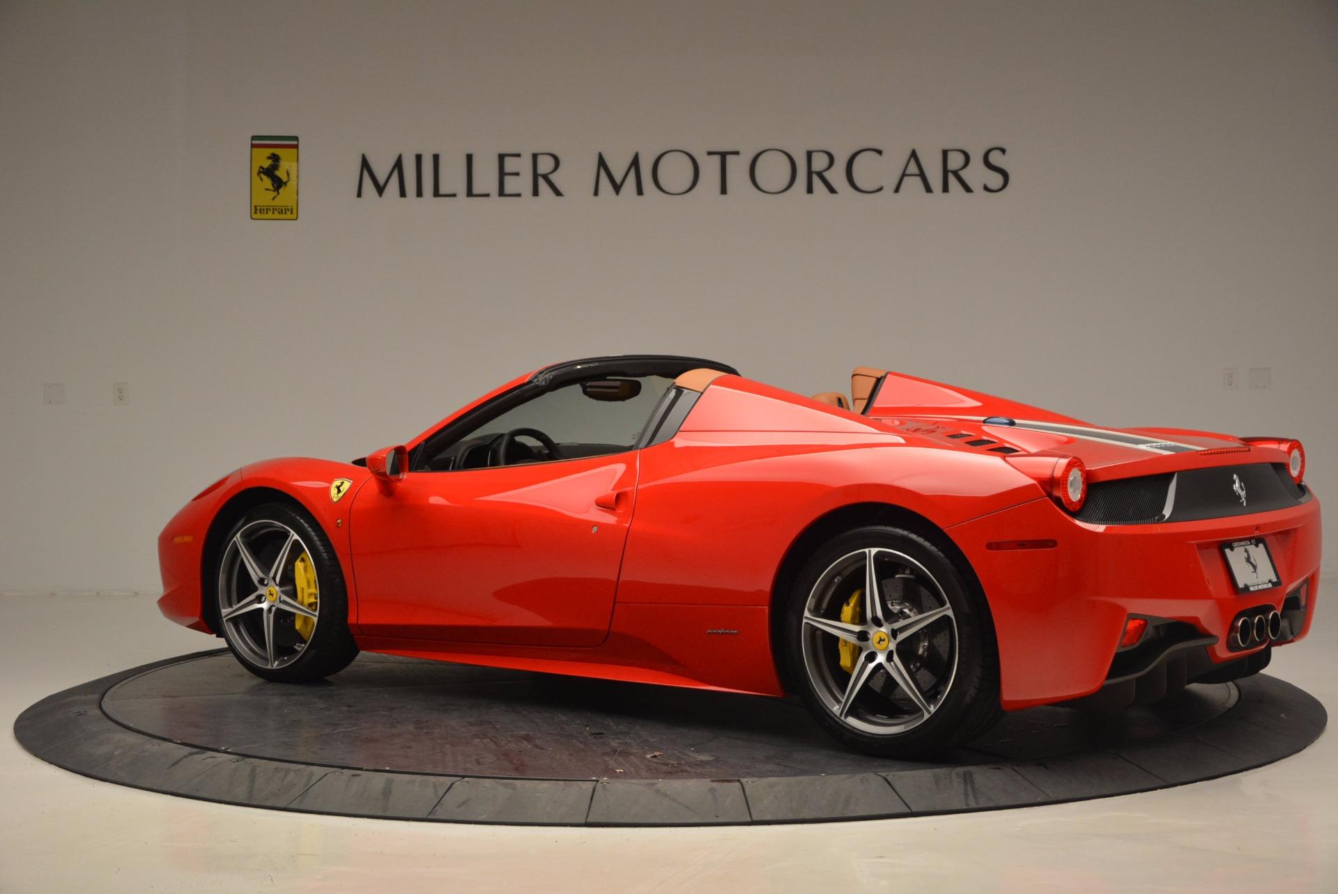 Used 2014 Ferrari 458 Spider  For Sale In Greenwich, CT. Alfa Romeo of Greenwich, F1773A 952_p4