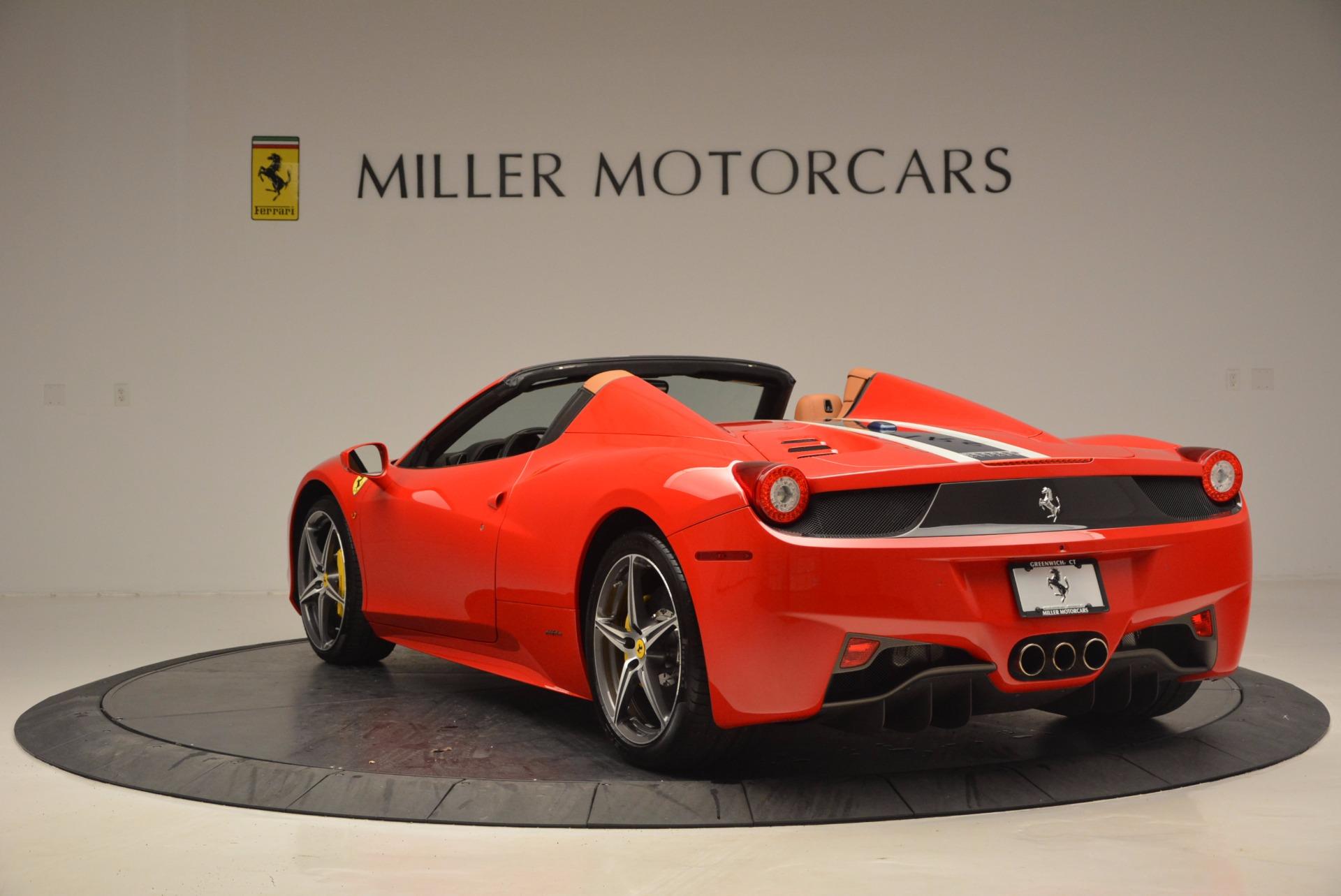 Used 2014 Ferrari 458 Spider  For Sale In Greenwich, CT. Alfa Romeo of Greenwich, F1773A 952_p5