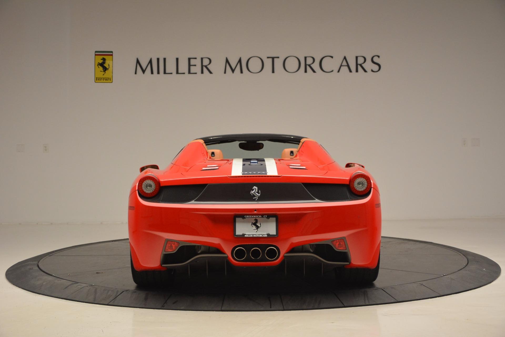 Used 2014 Ferrari 458 Spider  For Sale In Greenwich, CT. Alfa Romeo of Greenwich, F1773A 952_p6