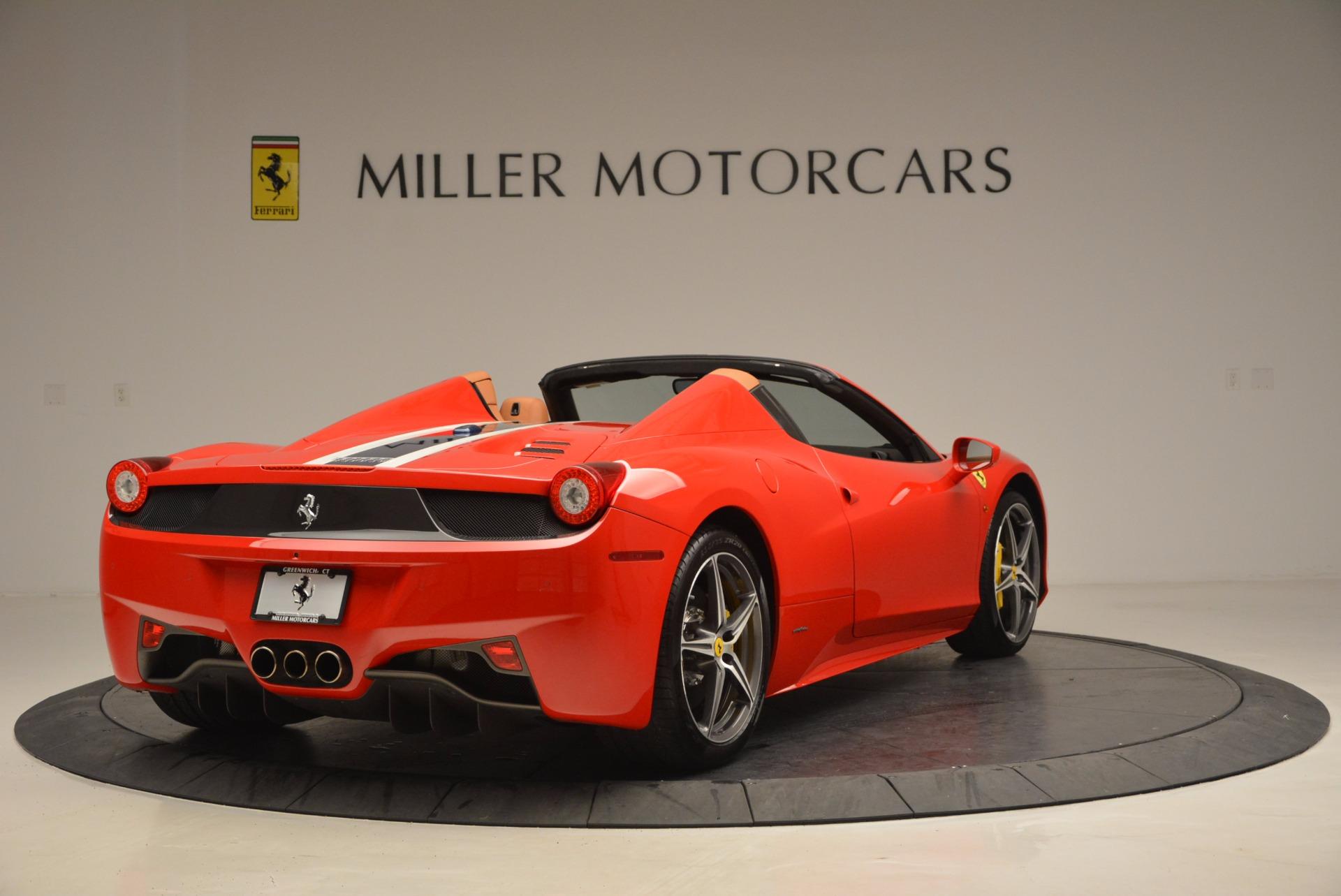 Used 2014 Ferrari 458 Spider  For Sale In Greenwich, CT. Alfa Romeo of Greenwich, F1773A 952_p7