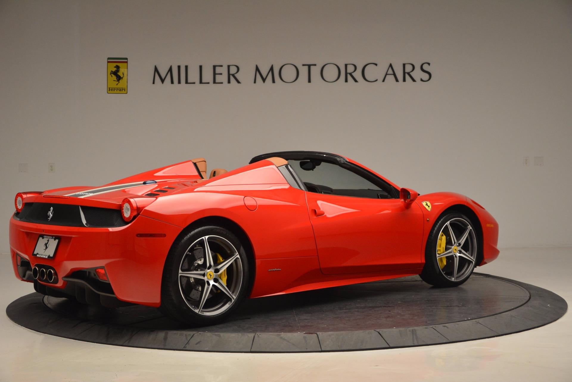 Used 2014 Ferrari 458 Spider  For Sale In Greenwich, CT. Alfa Romeo of Greenwich, F1773A 952_p8
