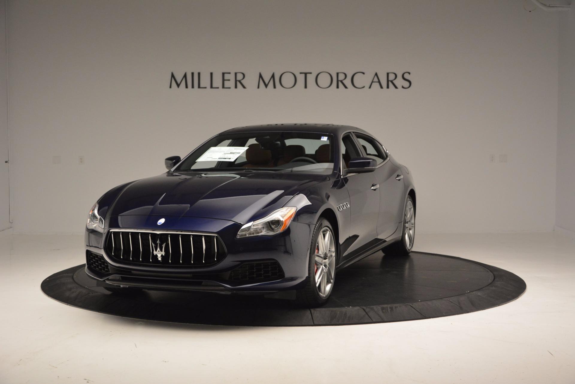 New 2017 Maserati Quattroporte S Q4 For Sale In Greenwich, CT. Alfa Romeo of Greenwich, M1801 957_main