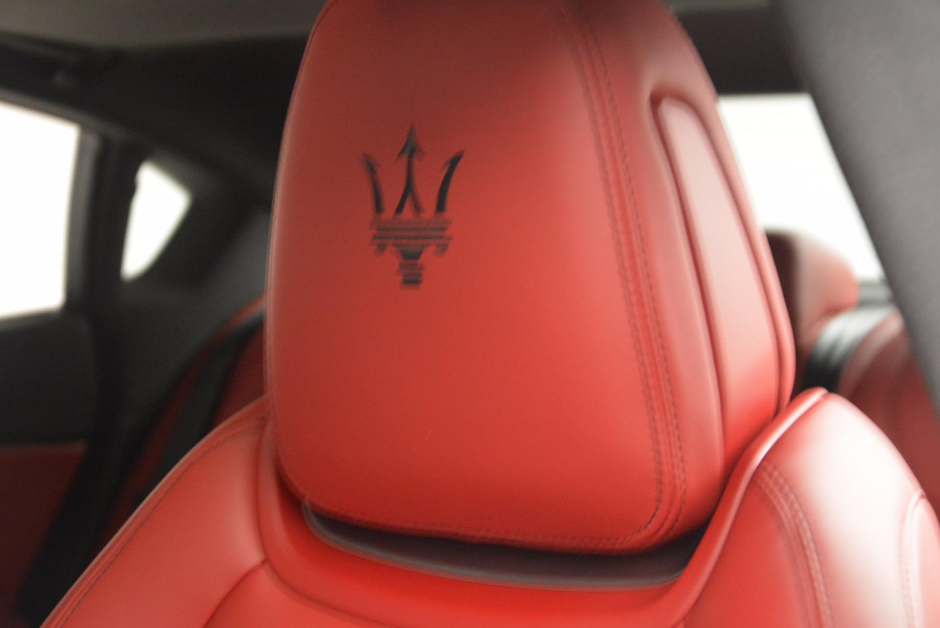 New 2017 Maserati Quattroporte S Q4 GranSport For Sale In Greenwich, CT. Alfa Romeo of Greenwich, W454 960_p16