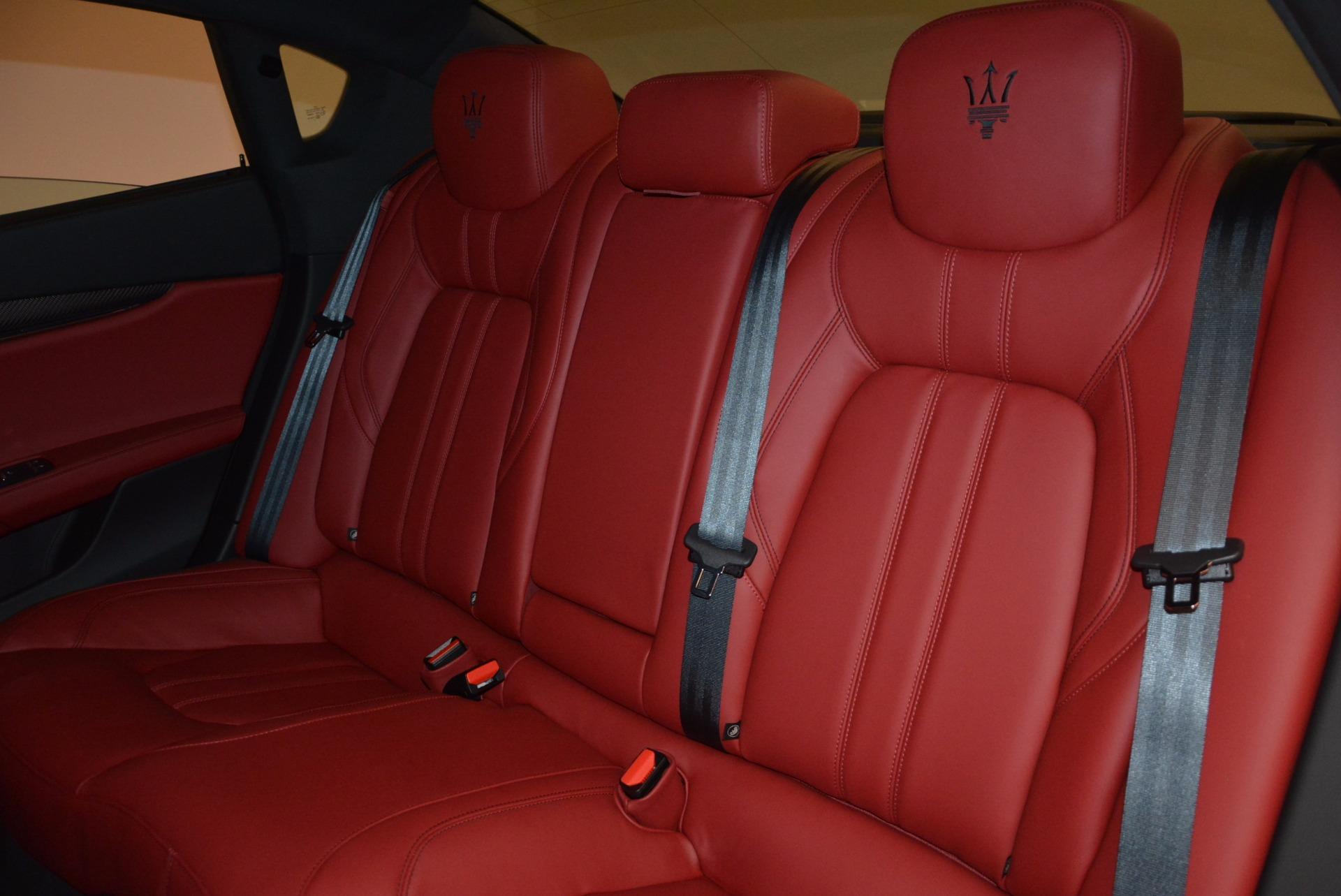New 2017 Maserati Quattroporte S Q4 GranSport For Sale In Greenwich, CT. Alfa Romeo of Greenwich, W454 960_p22