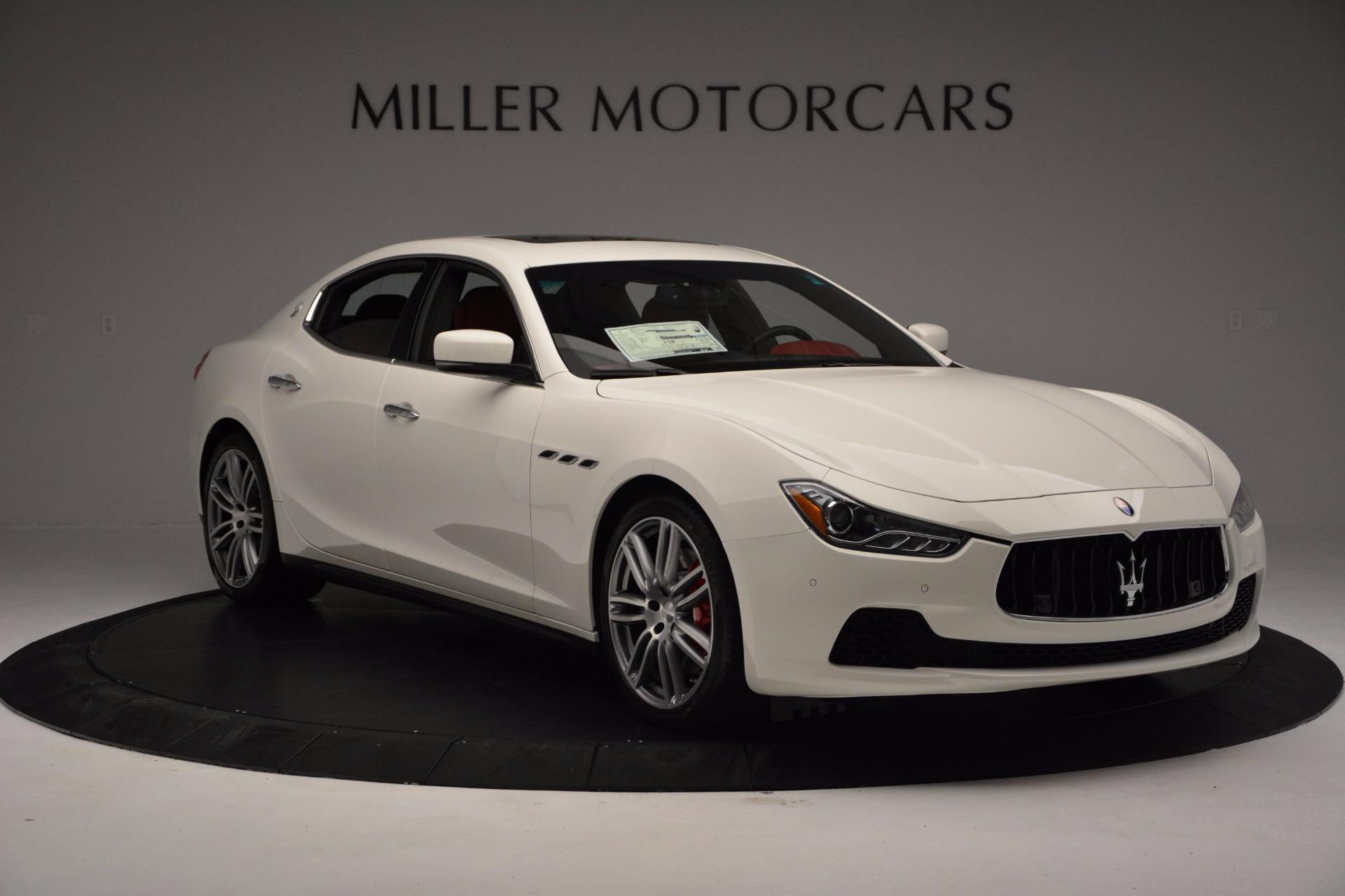 New 2017 Maserati Ghibli SQ4 For Sale In Greenwich, CT. Alfa Romeo of Greenwich, M1804 962_p11