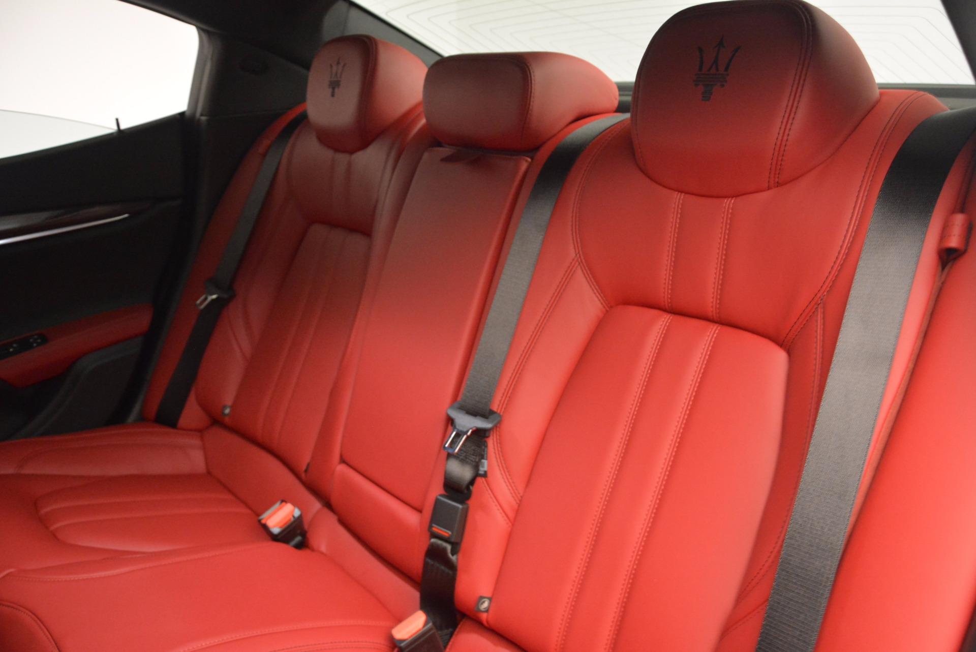 New 2017 Maserati Ghibli SQ4 For Sale In Greenwich, CT. Alfa Romeo of Greenwich, M1804 962_p24