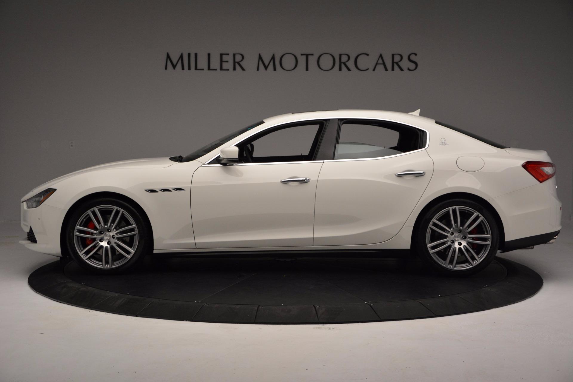 New 2017 Maserati Ghibli SQ4 For Sale In Greenwich, CT. Alfa Romeo of Greenwich, M1804 962_p3