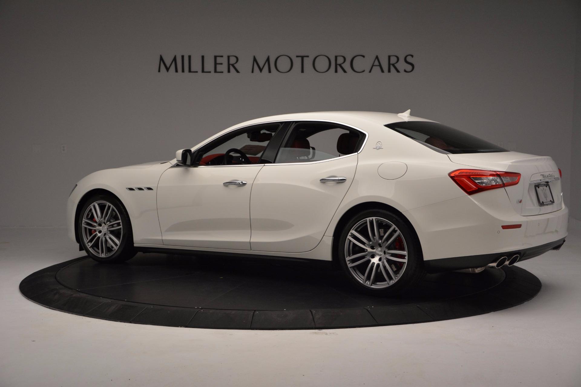 New 2017 Maserati Ghibli SQ4 For Sale In Greenwich, CT. Alfa Romeo of Greenwich, M1804 962_p4