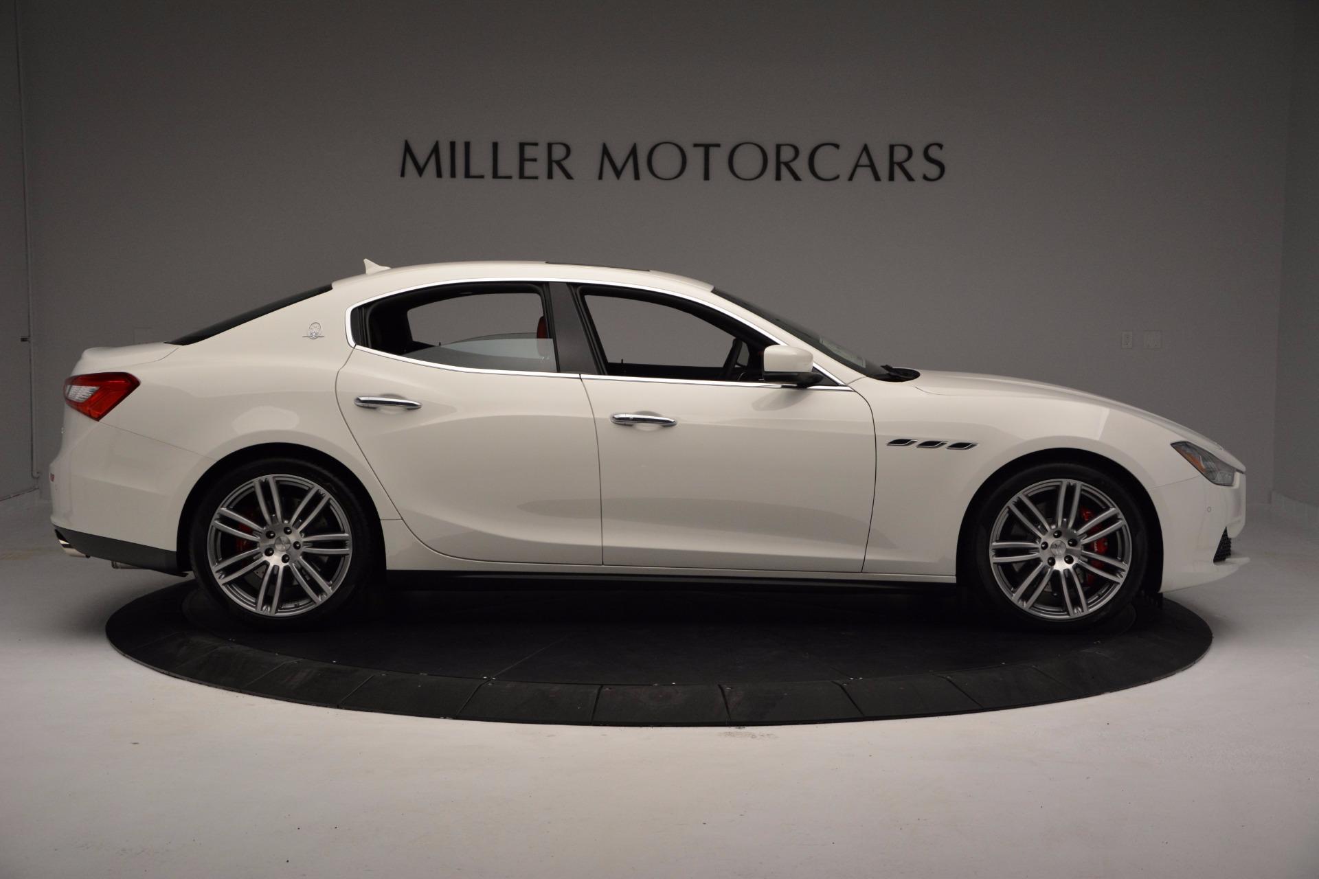 New 2017 Maserati Ghibli SQ4 For Sale In Greenwich, CT. Alfa Romeo of Greenwich, M1804 962_p9