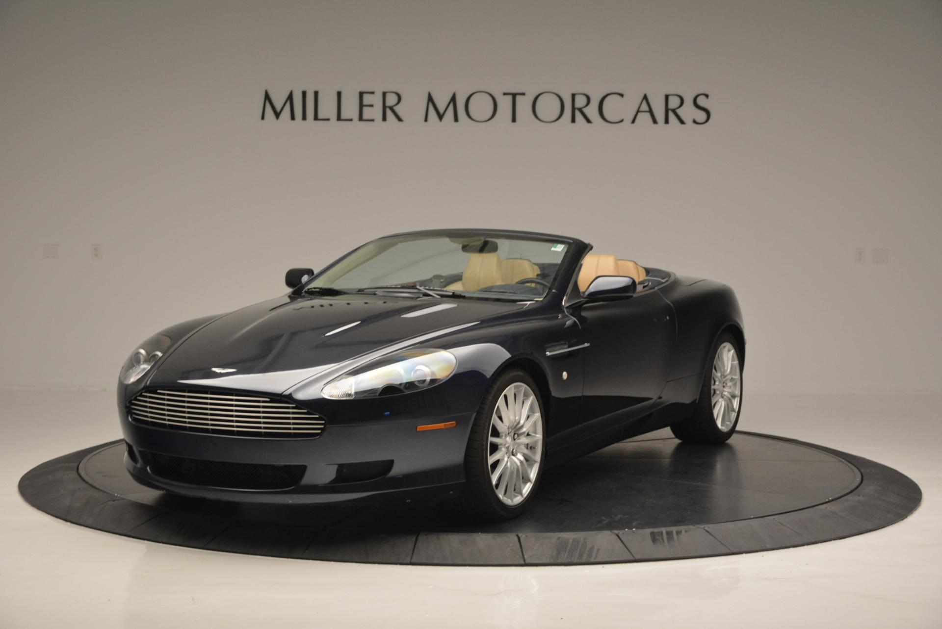 Used 2007 Aston Martin DB9 Volante For Sale In Greenwich, CT. Alfa Romeo of Greenwich, A1175A 97_main