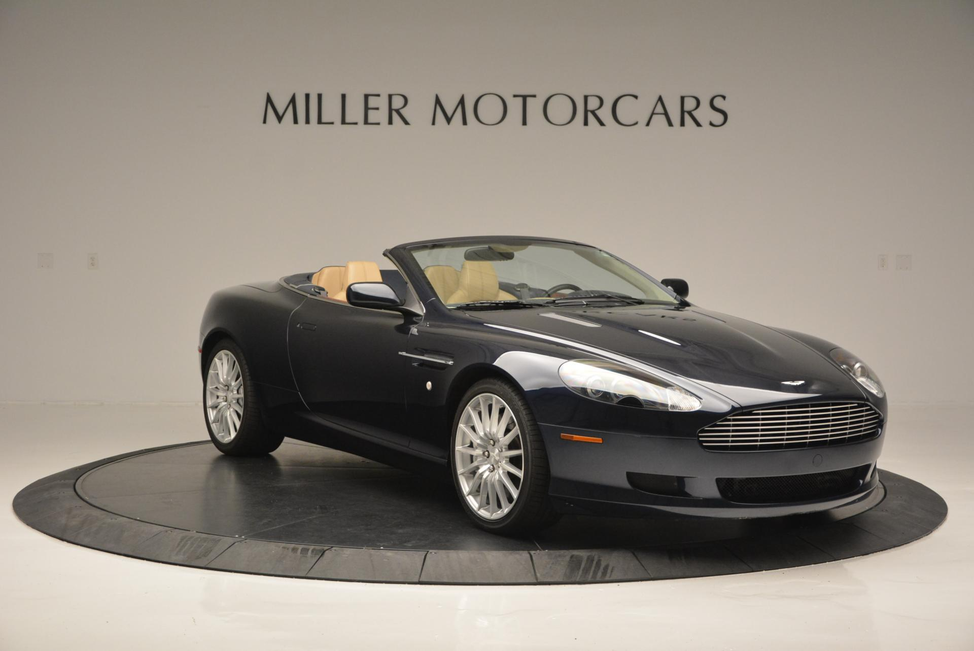 Used 2007 Aston Martin DB9 Volante For Sale In Greenwich, CT. Alfa Romeo of Greenwich, A1175A 97_p11