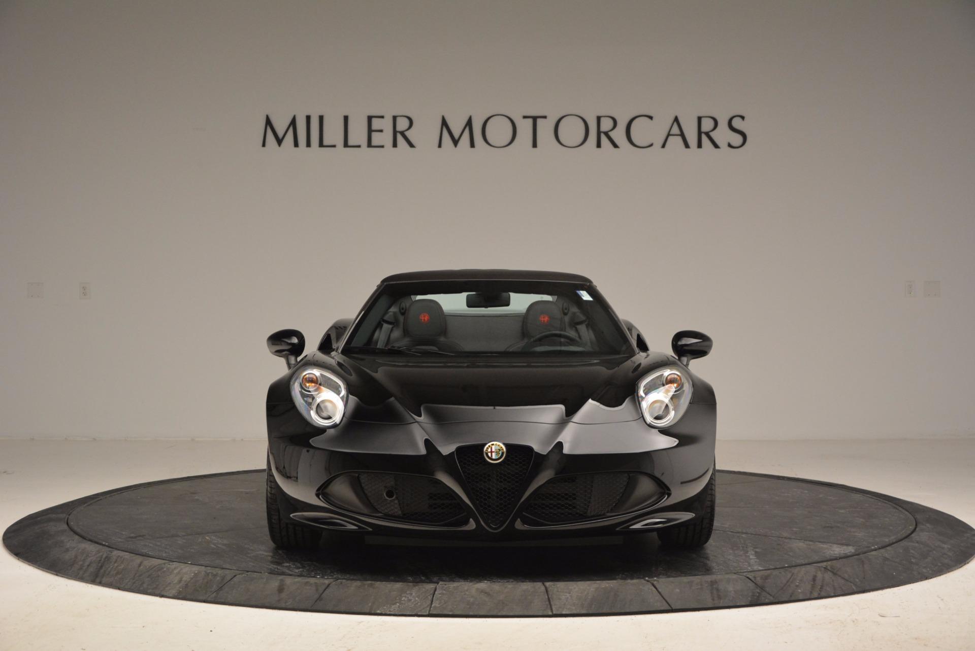 New 2016 Alfa Romeo 4C Spider For Sale In Greenwich, CT. Alfa Romeo of Greenwich, L051 993_p12