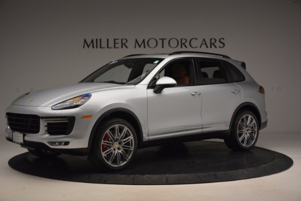 Used 2016 Porsche Cayenne Turbo for sale Sold at Alfa Romeo of Greenwich in Greenwich CT 06830 2