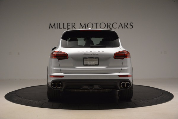 Used 2016 Porsche Cayenne Turbo for sale Sold at Alfa Romeo of Greenwich in Greenwich CT 06830 6