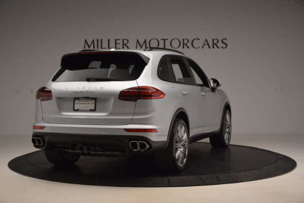 Used 2016 Porsche Cayenne Turbo for sale Sold at Alfa Romeo of Greenwich in Greenwich CT 06830 7