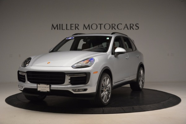 Used 2016 Porsche Cayenne Turbo for sale Sold at Alfa Romeo of Greenwich in Greenwich CT 06830 1